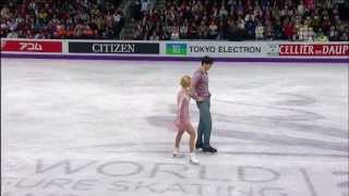 Amazing performance of Volosozhar and Trankov at 2013 World Championship