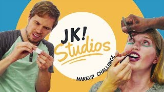 JK! Guys' Makeup Tutorial... OR CHALLENGE