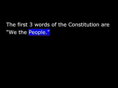 United States Citizenship Test   Civics   1   Intro And Questions 1 To 12