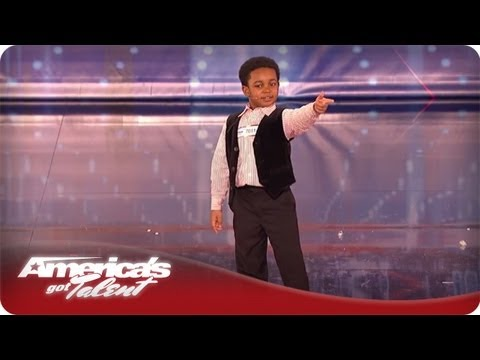 This Kid's Got Personality and He Can Sing and Dance - Issac Brown AGT Season 7 Audition