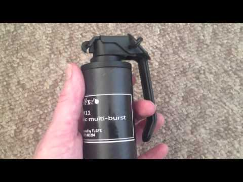 AIRSOFT GRENADE - TLSFx Thermobaric Multi-Burst - Sneak Peak!