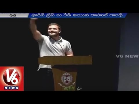 Rahul Gandhi To Celebrate New Year In Europe | V6 News