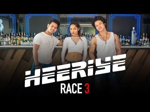 Heeriye - Race 3 | Sonali Bhadauria Ft. Ricki & Sarang | LiveToDance with Sonali