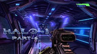 Halo Combat Evolved | Walkthrough Part-6 | Into the Belly of the Beast