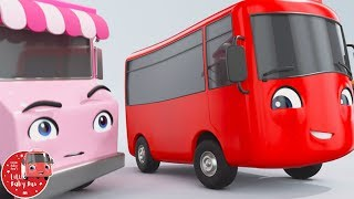 Little Baby Bus - Ice Cream + More! | Kids Cartoons | Children's Stories | Bus Videos | Bus Songs