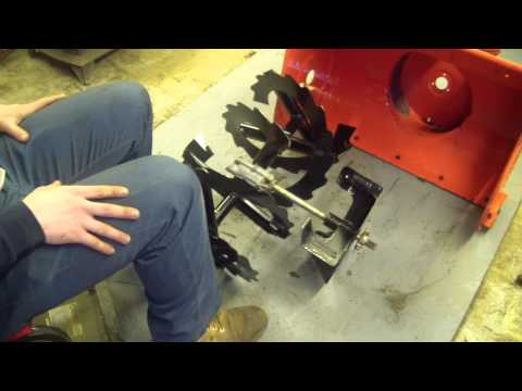 How to replace an Ariens gear box DIY