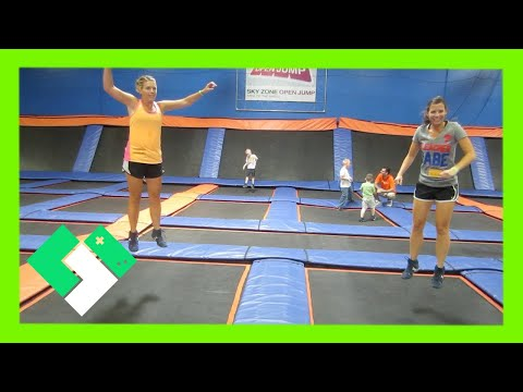 SKY ZONE TRAMPOLINE FUN!!! (5.18.13 - Day 414)
