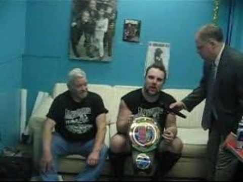Shawn Blanchard 4 time KSWA Heavyweight Champion Video