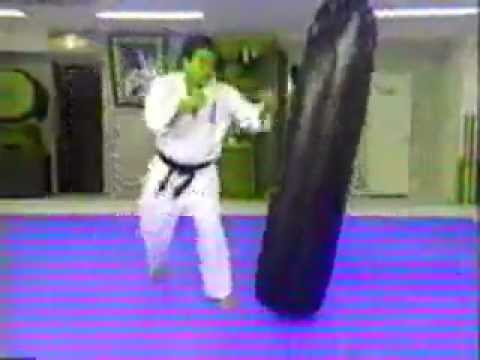 kancho matsui , kyokushin karate instructional video 4-4 Image 1