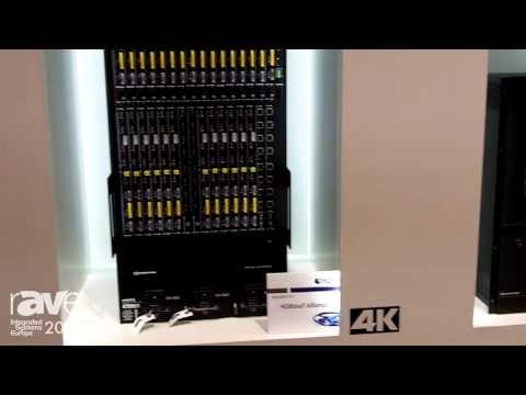 ISE 2014: Crestron Exhibits Digital Media Matrix Switchers