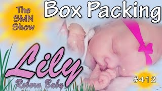 BOX PACKING Reborn Baby Girl Lily - The SMN Show #412