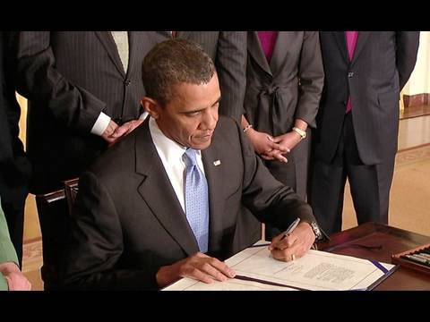 President Obama Signs Iran Sanctions Act