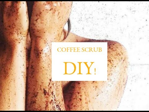DIY: Skin Exfoliate Scrub Using Coffee Grinds | Get ride of Cellulite Stretch Marks