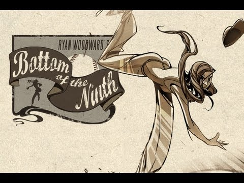 BOTTOM OF THE NINTH - Worlds first ANIMATED Graphic Novel