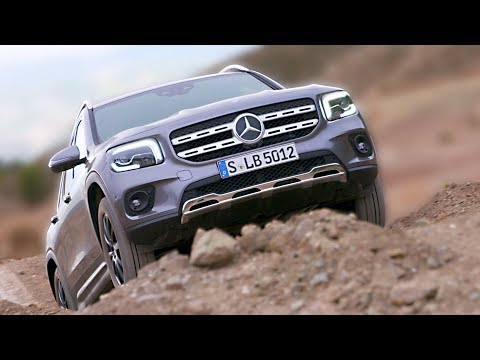 Mercedes GLB (2020) Off-Road Test Drive