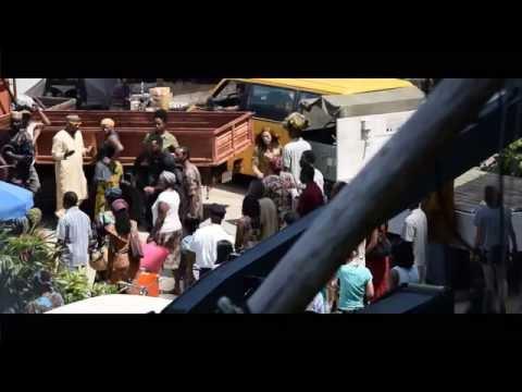 Scarlett Johansson - Captain America 3 set behind scene