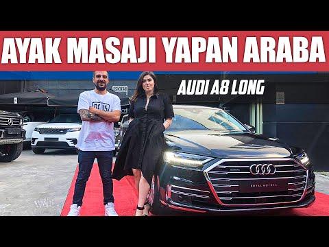 Audi A8 L | Ayak Masajı Yapan Araba Olur Mu?