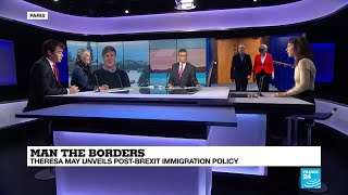 Man the borders: Theresa May unveils post-Brexit immigration policy