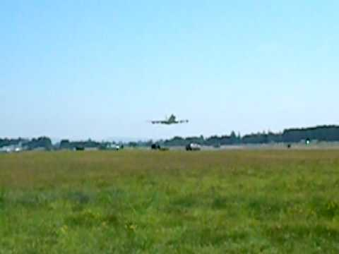 Evergreeen 747 flyby at McMinnville, OR