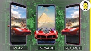 Kirin 710 vs Snapdragon 660 vs  Mediatek Hello P60 - the best mid-range processor?