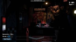 Fredbears Fright Night 1 Welcome to the future