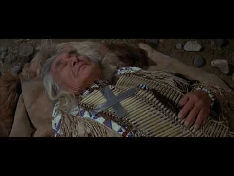 Little Big Man Chief Dan George Goes up to the mountain to