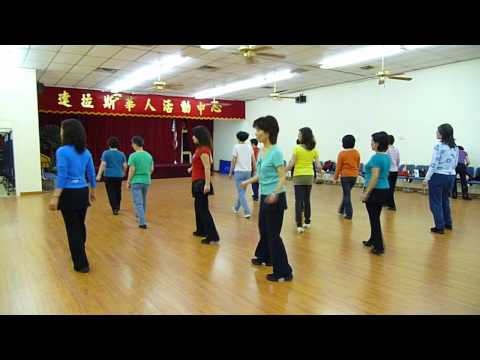 Toes - Line Dance (Demo & Walkthrogh 中��)