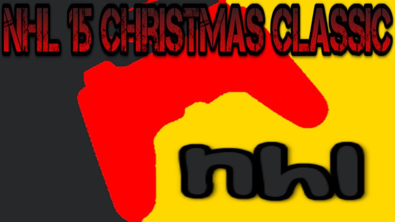 Mlg Classic Logo Nhl 15 Mlg Christmas Classic
