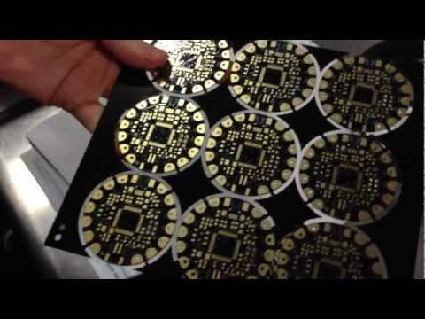 FLORA PCBs! Ladyada explains