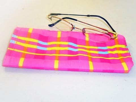 C�mo hacer una bolsa para lentes o espejuelos