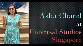 Asha Chand at Universal Studio | Radio Sindhi | Sindhi Lada