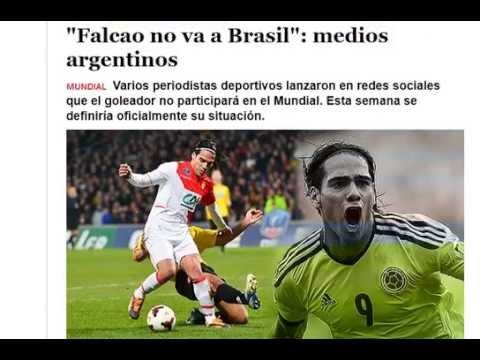 Confirman Que Radamel Falcao No VA Para Brasil 2014