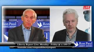 Ron Paul Interviews: Julian Assange Speaks Out - The War on the Truth