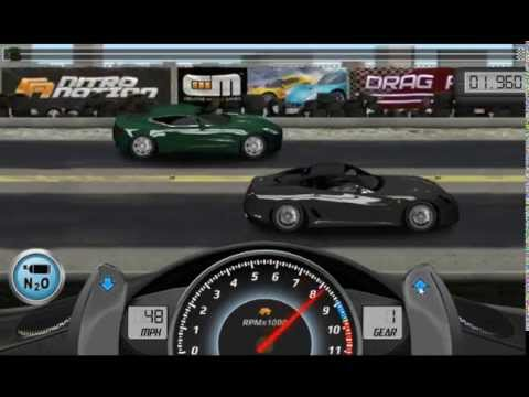 Drag Racing win complete level 7 career with 1 tune setup for Ferrari Novitec Rosso 599 GTB