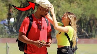 Stealing Guys Hats Prank 2!!