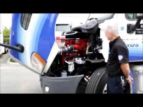 Freightliner Cascadia Compressed Natural Gas Model
