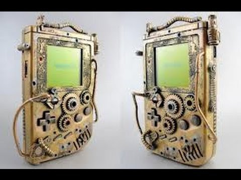 Thretris Steampunk Gameboy LSDJ Demo Part 2 (Now Backlit)