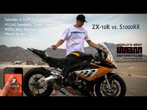 A-Supersport Saturday Race. MobiBuff - WBM - Racer Marcel Irnie goes back to Vegas Speedway for Round 2 of the WERA West National series. Enjoy the final Sat...
