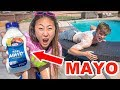 MAYO SUNSCREEN PRANK ON CARTER!!