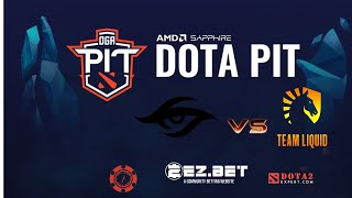 Team Liquid vs Team Secret | Bo5 |OGA Dota PIT 2020 Online GRAND FINALS : Europe/CIS