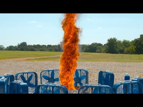 Fire Tornado in Slow Motion 4K - The Slow Mo Guys