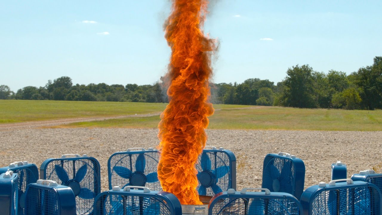[Know What's Cooler Than A Fire Tornado? Slo Mo Fire Tornado] Video