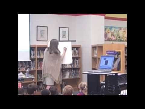 School Visit with Elizabeth O. Dulemba