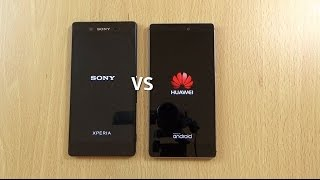 Sony Xperia Z3+ VS Huawei P8 - Speed & Camera Test!