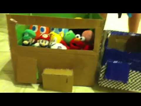 how to make a claw machine out of paper