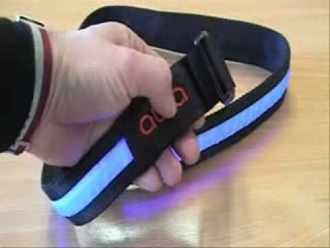 Aura belt - High-intensity LED light for cyclists