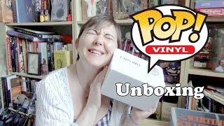 Pop in a box unboxing July 2018   Mystery Funko Pop!
