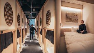 Japan Capsule Hotel Experience! | Hotel Zen Tokyo