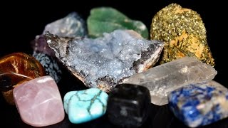 Crystals, Minerals, Gems, & Stones A - Z