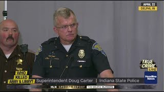 Did Delphi police send coded messages to killer at press conference?